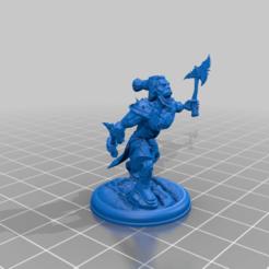 Orc_by_Mehdals.png Télécharger fichier STL gratuit Orque avec des haches par Mehdals • Design pour impression 3D, Mehdals