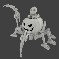 Download free 3D printer model Mech O Lantern, Mehdals