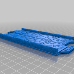 Download free 3D printer designs Dungeon Terrain Tiles with Puzzle Lock, Mehdals