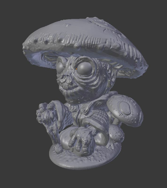 forest_gnome_5.JPG Download STL file Forest Gnome • 3D printer model, Mehdals