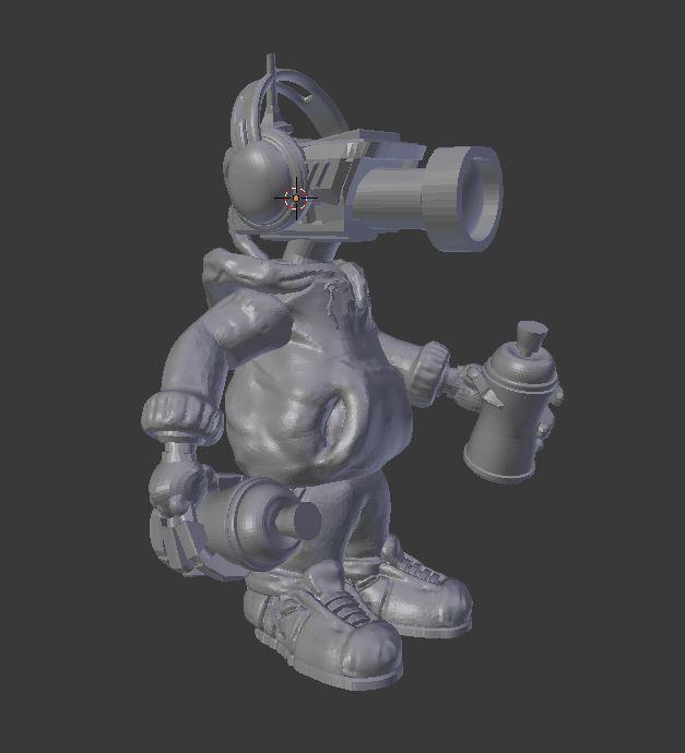 Capture_3.JPG Télécharger fichier STL gratuit CCTV Punk par Mehdals • Objet à imprimer en 3D, Mehdals