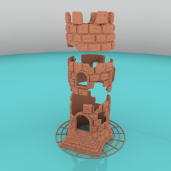 castle_2.png Download free STL file Floating Castle for Aquarium • Model to 3D print, Mehdals