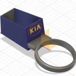 Descargar archivos STL Porta ceniceros Kia Rio, kds6