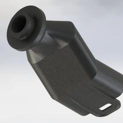 Download 3D printing designs 3M Bayonet Snorkel Mask Adapter, alfredo0192