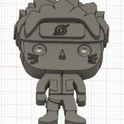 Download free STL files Naruto 3D (small) imitation Pop, Flo__ol