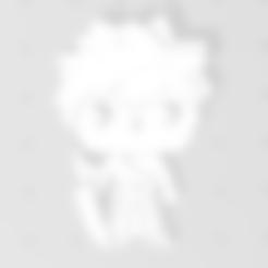 Ichigo porte clé version 2.1 v0.stl Télécharger fichier STL gratuit Ichigo de Bleach 3D imitation Pop (pour aimant) • Modèle pour impression 3D, Flo__ol