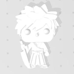 Nouvelle capture.PNG Download free STL file Ichigo by Bleach 3D imitation Pop (for magnet) • 3D printable template, Flo__ol
