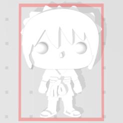 Capture.PNG Download free STL file Sasuke of Naruto 3D imitation Pop (for magnet) • 3D print template, Flo__ol