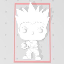 Download free STL file Gon Freecss de Hunter X Hunter 3D imitation Pop (for magnet) • 3D printer object, Flo__ol