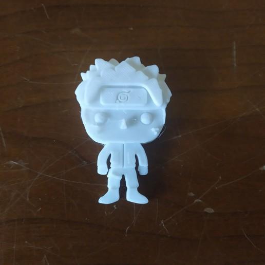 IMG_20200511_191015.jpg Télécharger fichier STL gratuit Naruto 3D imitation Pop (pour aimant) • Objet imprimable en 3D, Flo__ol