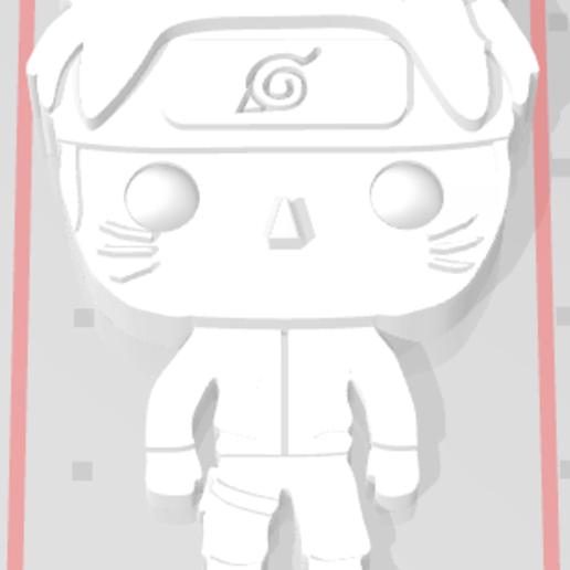 Capture.PNG Télécharger fichier STL gratuit Naruto 3D imitation Pop (pour aimant) • Objet imprimable en 3D, Flo__ol
