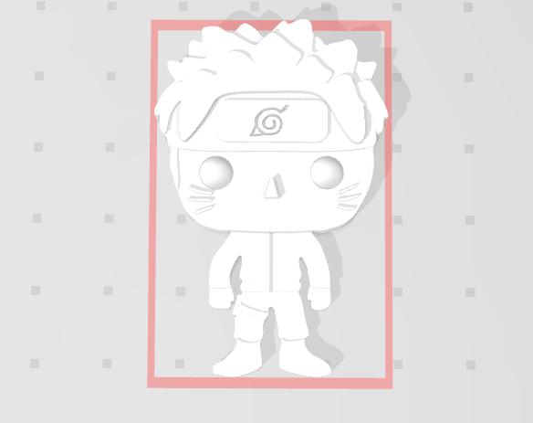 Nouvelle capture.PNG Télécharger fichier STL gratuit Naruto 3D imitation Pop (pour aimant) • Objet imprimable en 3D, Flo__ol