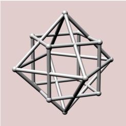 Descargar archivo 3D Pareja de cubo de octaedro, dansmath