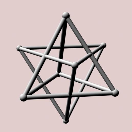 Descargar STL Dobles tetraédricos (peso desigual), dansmath