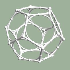 Screen Shot 2020-05-17 at 7.04.11 PM.png Download STL file Dodecahedron with Midcircles • 3D printing design, dansmath