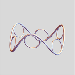 Saddle Circles 2.png Télécharger fichier STL Cercles de selle 2 • Modèle pour imprimante 3D, dansmath