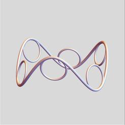 Saddle Circles 2.png Download STL file Saddle Circles 2 • 3D printing template, dansmath
