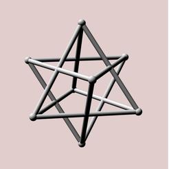 Descargar archivo 3D Dobles tetraédricos (igual peso), dansmath