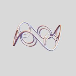 Saddle Circles 4.png Download STL file Saddle Circles 4 • Template to 3D print, dansmath