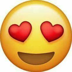 emoji1.jpg Télécharger fichier STL emoji en amour • Plan à imprimer en 3D, elkinlancheros
