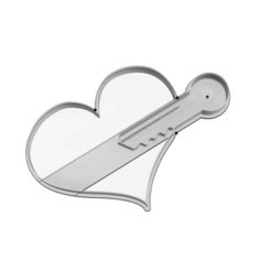 corazon llave.png Download STL file cutter key to my heart • Design to 3D print, elkinlancheros