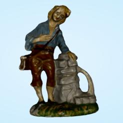 Descargar modelos 3D para imprimir El hombre y el agua se divierten, PimpMyPrint