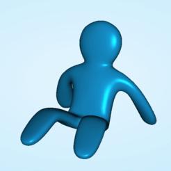 Imprimir en 3D El soporte del teléfono inteligente con forma de hombre, PimpMyPrint