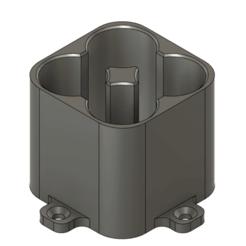 4S 18650 battery spot welding holder.png Télécharger fichier STL 4S 18650 support de soudage par points à batterie • Objet pour impression 3D, PimpMyPrint