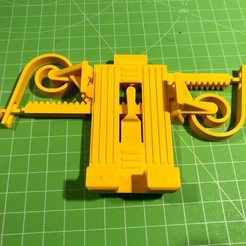 Download free 3D printing designs PRINT-IN-PLACE PHONE HOLDER - FOR SPACE?!, gcarlier