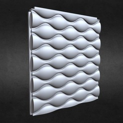 1.jpg Download 3DS file 3d wall panel 10 • Model to 3D print, PolyArt