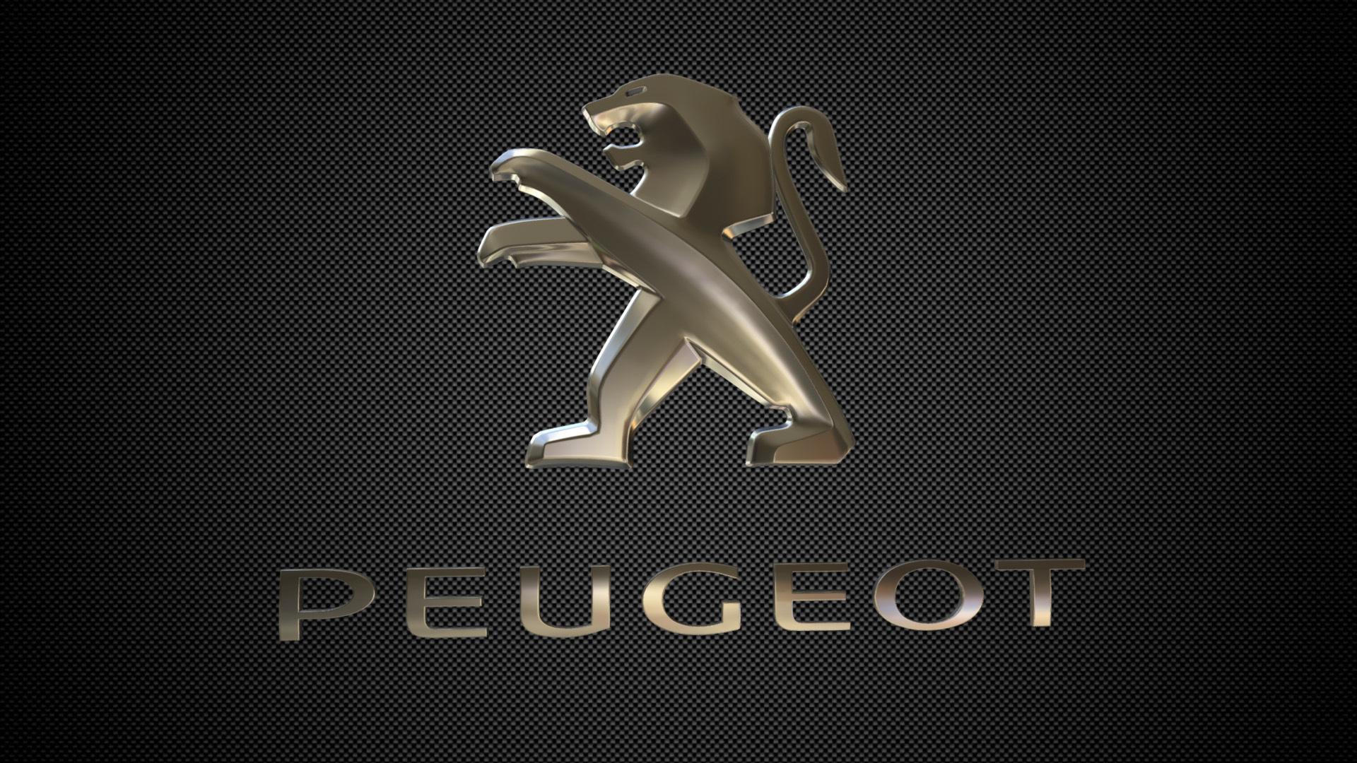 Download 3ds File Peugeot Logo 3d Printer Design Cults
