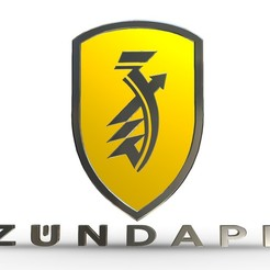 1.jpg Download 3DS file Zundapp logo 3 • 3D printer design, PolyArt