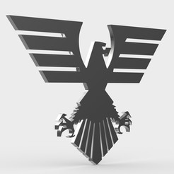 26.jpeg Download 3DS file eagle logo • 3D print object, PolyArt
