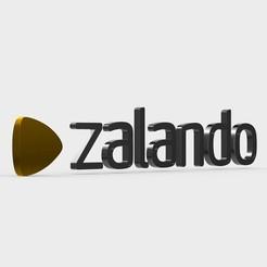Download 3D print files zalando logo, PolyArt