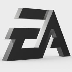 21.jpeg Télécharger fichier 3DS logo de l'ea • Modèle à imprimer en 3D, PolyArt