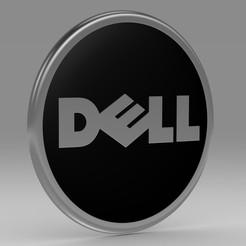 1.jpg Télécharger fichier 3DS Logo Dell • Modèle imprimable en 3D, PolyArt