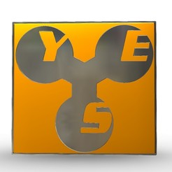 10.jpg Download 3DS file yes logo • 3D printing model, PolyArt