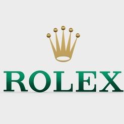 93.jpeg Télécharger fichier 3DS logo rolex • Plan à imprimer en 3D, PolyArt
