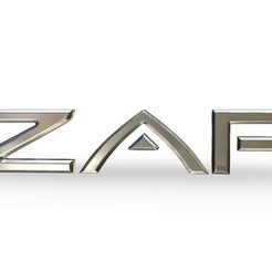 1.jpg Download 3DS file zap logo • 3D printer object, PolyArt