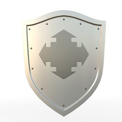 Download 3D printing models shield 9, PolyArt