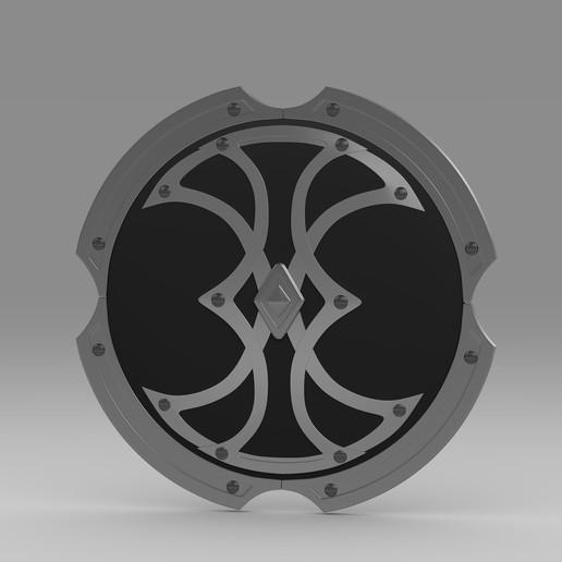 Download 3D printing designs shield  31, PolyArt