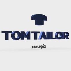 Download 3D model tom tailor logo, PolyArt
