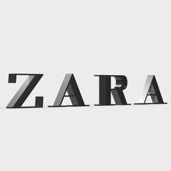 Download 3D printing designs zara logo, PolyArt