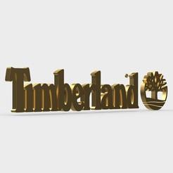 Download 3D printer templates timberland logo, PolyArt