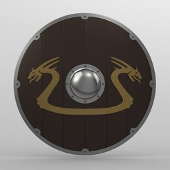 Download STL shield 2, PolyArt