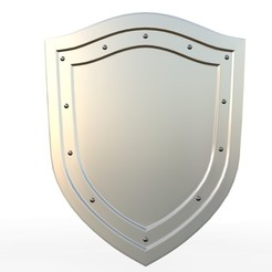 Download 3D printing models shield 12, PolyArt
