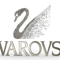 Download 3D printing templates swarovski logo, PolyArt