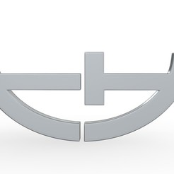 Download 3D model trendhouse logo, PolyArt