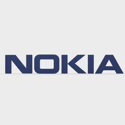 157.jpeg Download 3DS file nokia logo • 3D print object, PolyArt