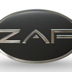 1.jpg Download 3DS file zap logo 2 • 3D printable object, PolyArt